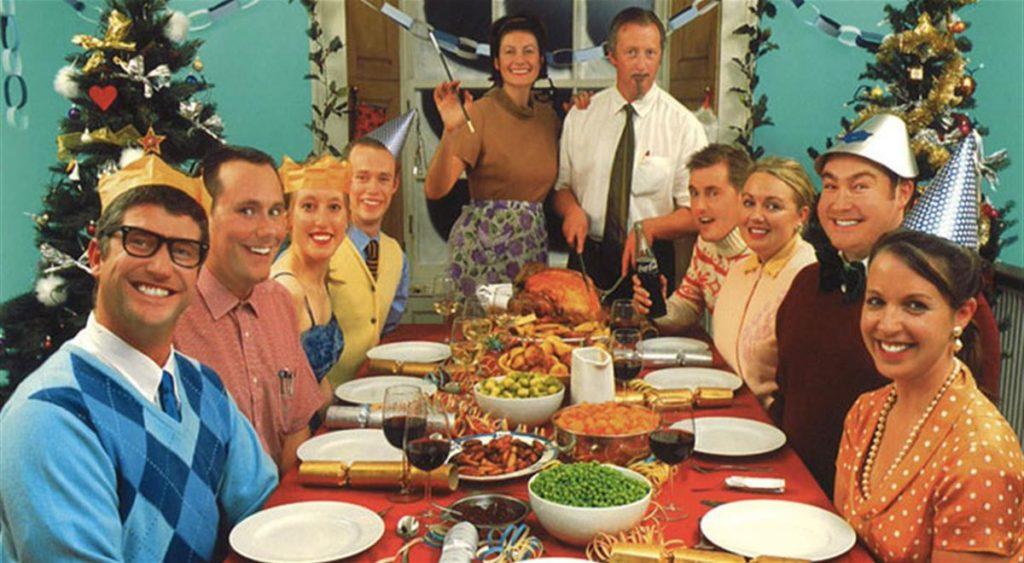 A cena dal nonno